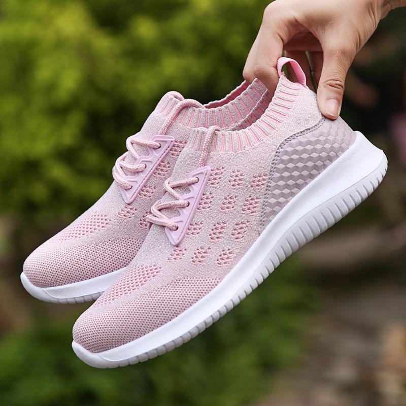 Zapatos calientes del deporte de la mujer zapatos del amortiguador de aire para las mujeres mujeres las zapatillas de deporte al aire libre de verano caminar Correr Formadores transpirable