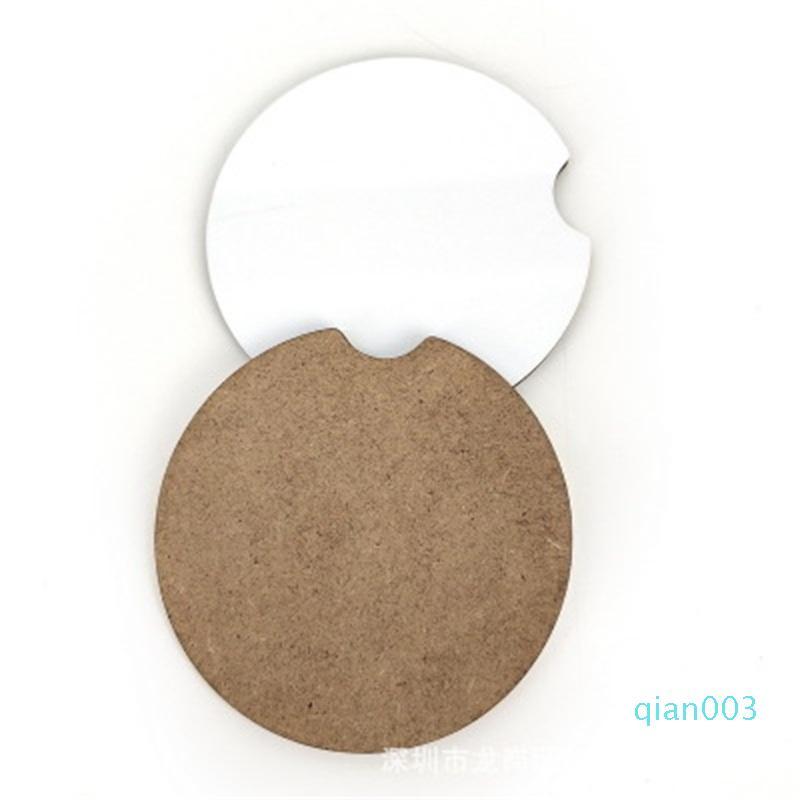 Nuovo arrivo di slittamento non del rilievo della tazza di sublimazione Blanks sottobicchiere Con Cork trasferimento termico Coasters Casa E Outdoor Utile 1bdaH1 ambientale
