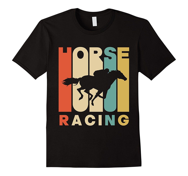 Vintage Stil At Racinger Tişört Pamuk Marka Tişörtler Tee O-Boyun Ergenlik Tişörtlü