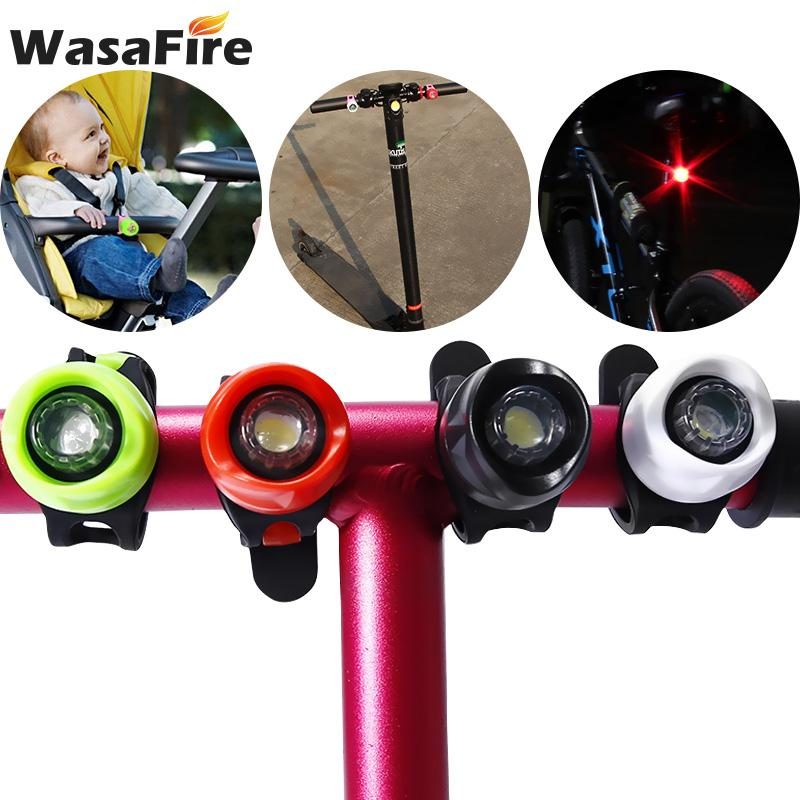 Fahrrad Lichter Fahrrad Rücklicht LED Reiten Warnlicht Kinder Roller Ausrüstung Zubehör USB Mountain Jewel Lampe