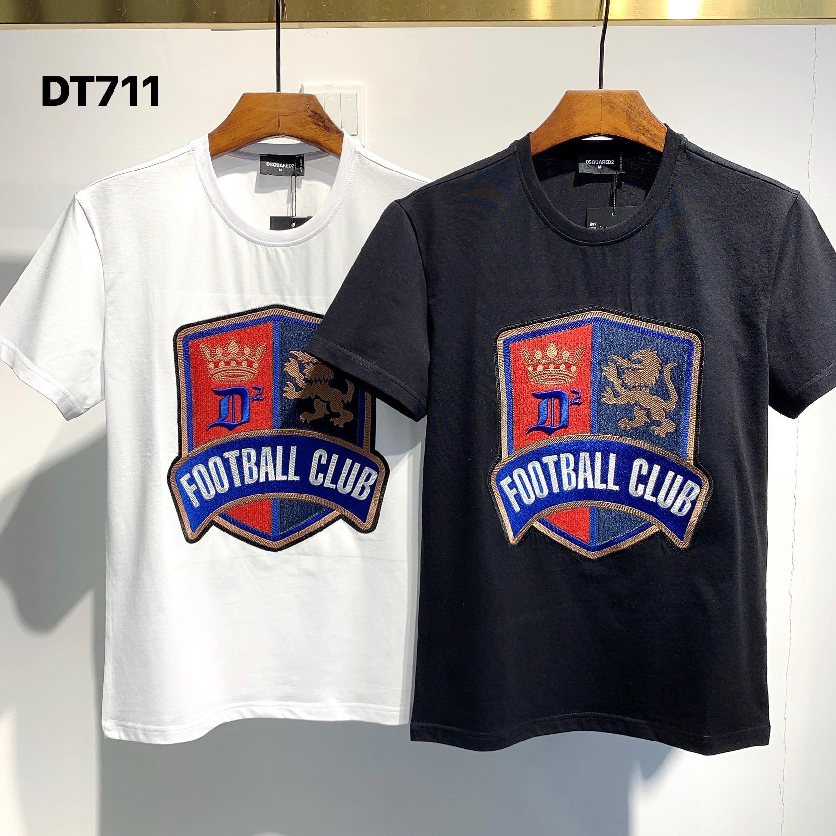 Горячие Продаем Классический ICON «Дизайнеры Мужские футболки # 003 Summer Paris Fashion» Luxuries Стилист мужчина женщины Тонкий Hip Hop Тис «D2 BB
