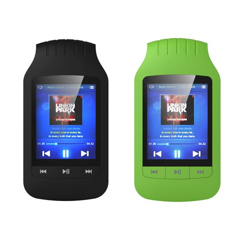 "Mini Clip HO1037 MP3 Player 8GB Support Sport Pedometer Bluetooth FM Radio TF Card Slot 1.8 "" LCD Screen Stereo Music Player"