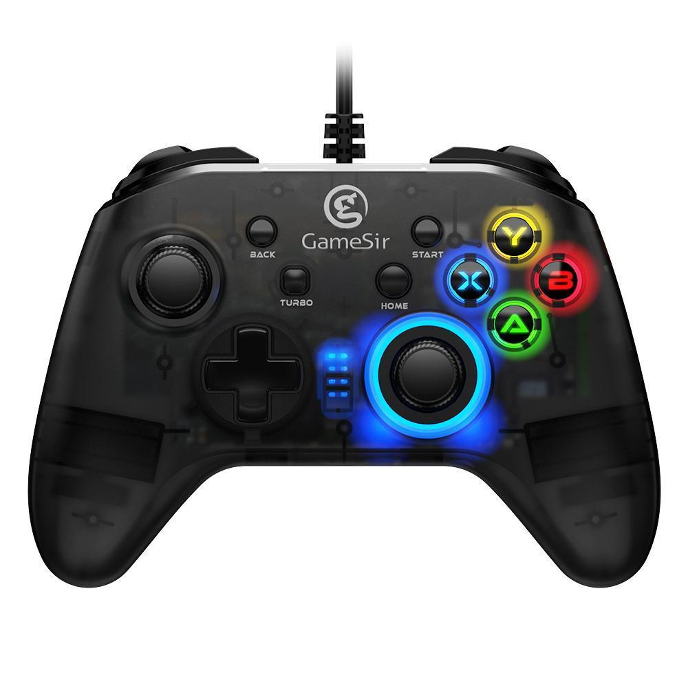 Cgjxs Gamesir T4W Проводной контроллер USB-кабель Turbo Функция Dual вибрации Джойстики Игровые геймпады для ПК Windows T191227