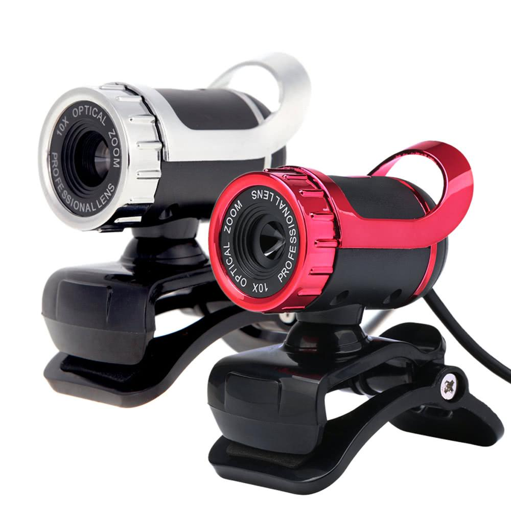 Mini-USB Web Cam HD-Kamera 50 Megapixel Webcams 360 Grad mit MIC Clip-on für Skype Computer PC Laptop