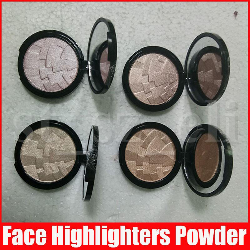 Face Makeup Foundation Highlighting Powder Maquillaje 4 Color Bronzer Highlight Highlighters Contour Illuminating Setting Pressed Powder