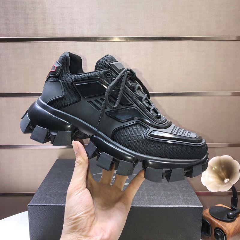 2020 Sıcak Yeni Tasarımcı Ayakkabı Erkekler Ve Kadınlar Cloudbust Thunder Örgü Tasarımcı Boy kadın Ayakkabıları Hafif Kauçuk Sole 3D Rahat Ayakkabılar