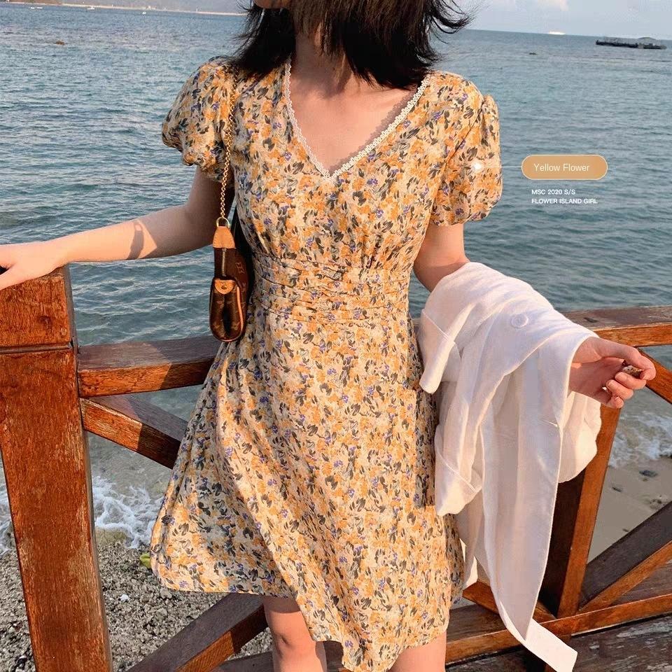 первая любовь Daisy цветочные платья WegHd бурундук в Бурундук 2020 V-образным вырезом юбки первая любовь Daisy цветочные платья Miss бурундук в Бурундук промаха Новый 2