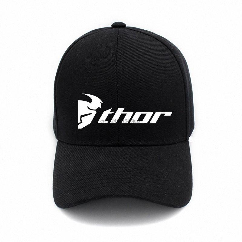 Thor MX motocrós Imprimir Gorra unisex Hombres Mujeres algodón gorra de béisbol se divierte al aire libre del Snapback de Hip Hop F # l0pV