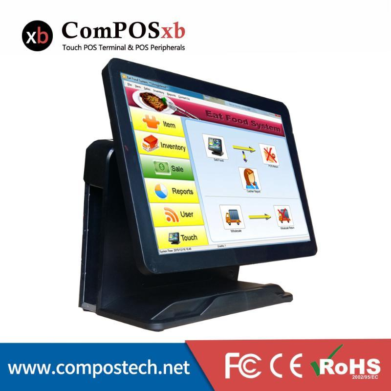 15 Verità Piatta in pollice Touch Screen Fatturazione macchina per macchina / produttore / ordinazione