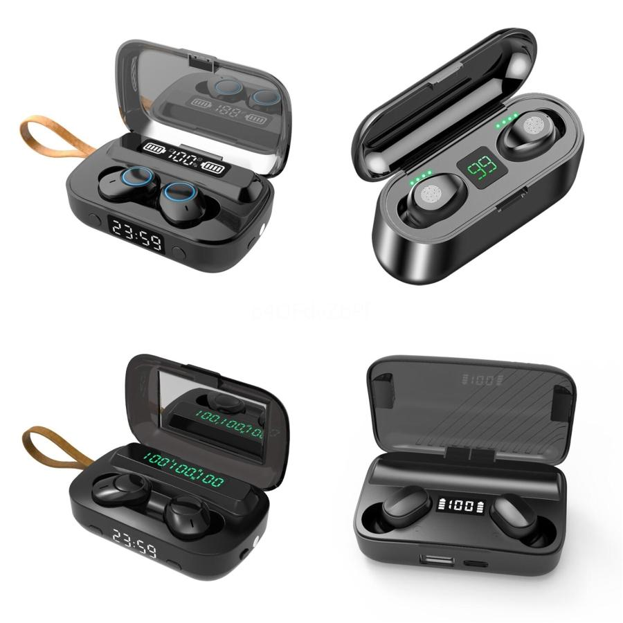 I7 i7s TWS Твин Мини Bluetooth гарнитура с зарядки беспроводной гарнитуры с микрофоном Stereo 5.0 Non Air Box, Транспорт # 7491