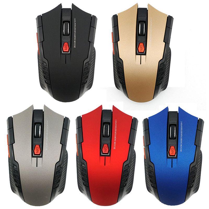 Bluetooth Wireless Gaming Mouse 2400dpi 6 Кнопки 2.4Ghz Мини Беспроводная оптическая мышь Gaming Подарок для портативных ПК