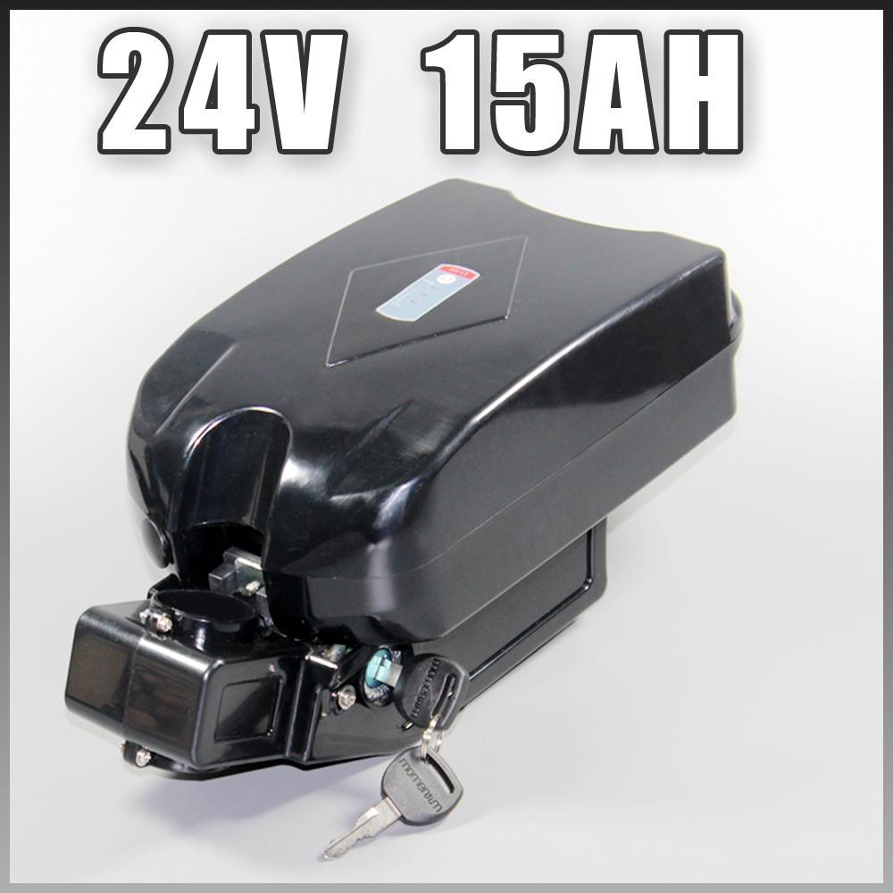 batteria da 24V 15Ah bicicletta elettrica Con 29.4v 3a caricabatterie 24v 15Ah Li-Ion per 500W E-bici