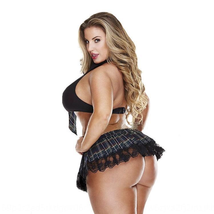 vQzep meia-noite mulher grande estudante tentação uniforme tentação da meia-noite Fat mm mulher mm Underwear tamanho uniforme sexy de gordura grande estudante de tamanho