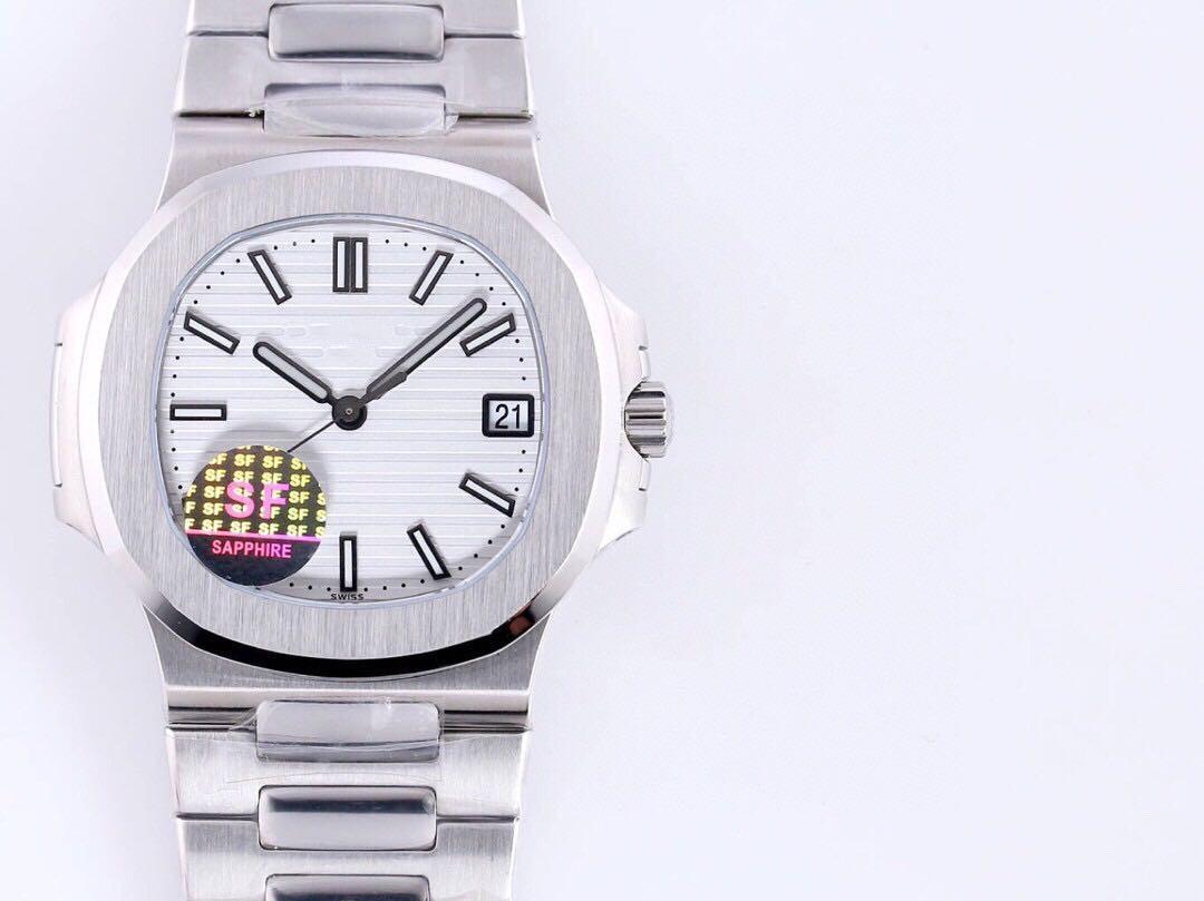 2020 высокого качество для 40mmX10mm мужских часов оснащены 9015 модифицированных Cal.324 автоматического движения цепи водонепроницаемых часов наручными часами