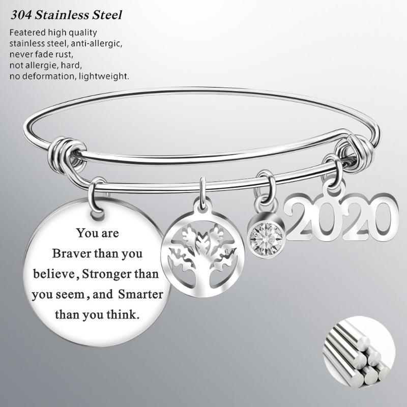 New Design Fashion 2020 Graduation Gift School Metal Bracelet Bangle Student Friendship Bracelet Gift Adjustable Delicate Graduation Charm Bracelet Bracelets From Buafy 14 43 Dhgate Com