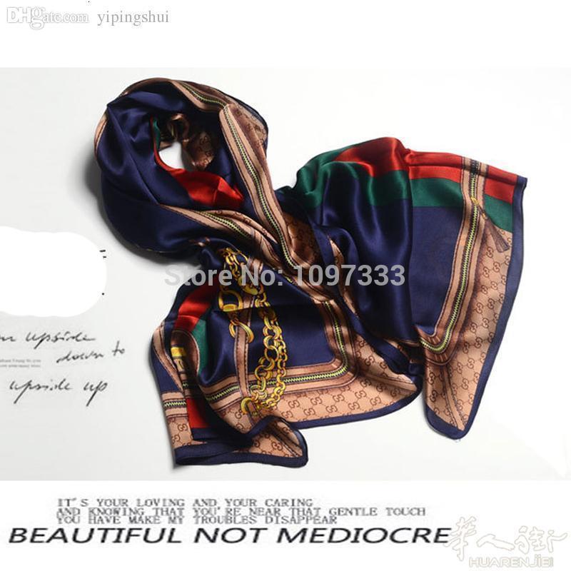 Neue großhandel-100% seidenschal luxus elegant design frauen schal geburtstagsgeschenke 17 farben frau 100% reine seide lange schals heiß