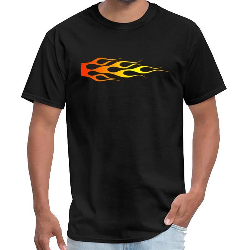 Spor Yangın Alevler büyük beden s ~ 6XL hiphop üstleri tshirt erkek dişi Royal Enfield tshirt
