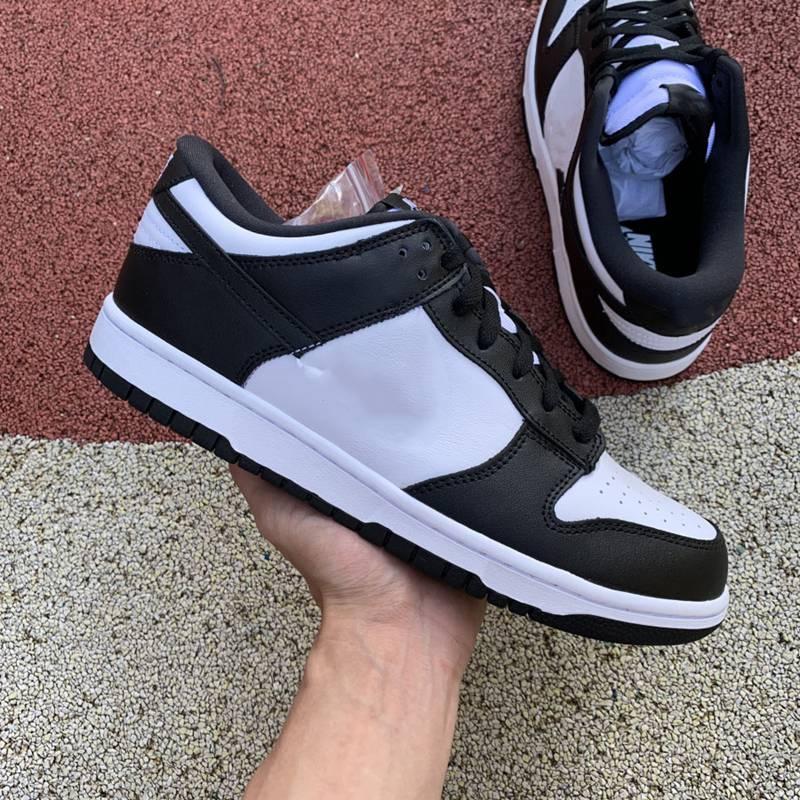 2020 NOUVEAU ours X SB Dunk Noir et blanc Panda Basse Panda Low Cut Shoes Hommes Femme Skateboard Chaussures