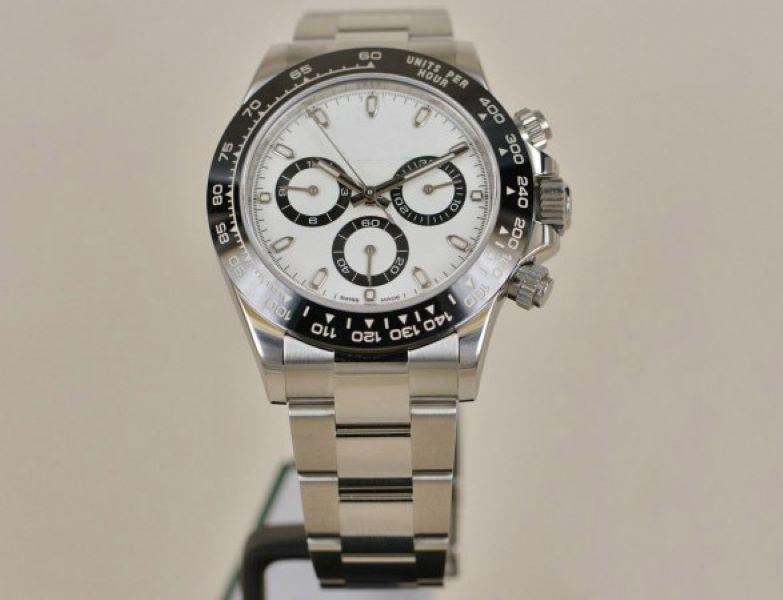 TOP N 공장 V3 디럭스 남자 사파이어 크로노 그래프 ETA 4130 운동 세라믹 베젤 116500 모델 904L 스테인리스 손목 시계 시계 시계
