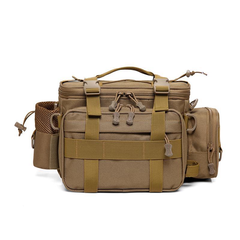 Bolsa bolsa camuflaje mochila táctica multifunción hombres táctico cintura bolsas viaje mochila senderismo pesca emduw