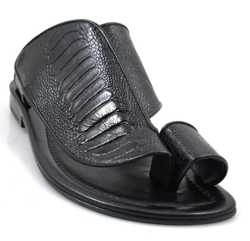 Homens Casual Couro Verão Chinelos Pu Moda Flat Shoes Casual Brogue Primavera Masculino Clássico Vintage LP186