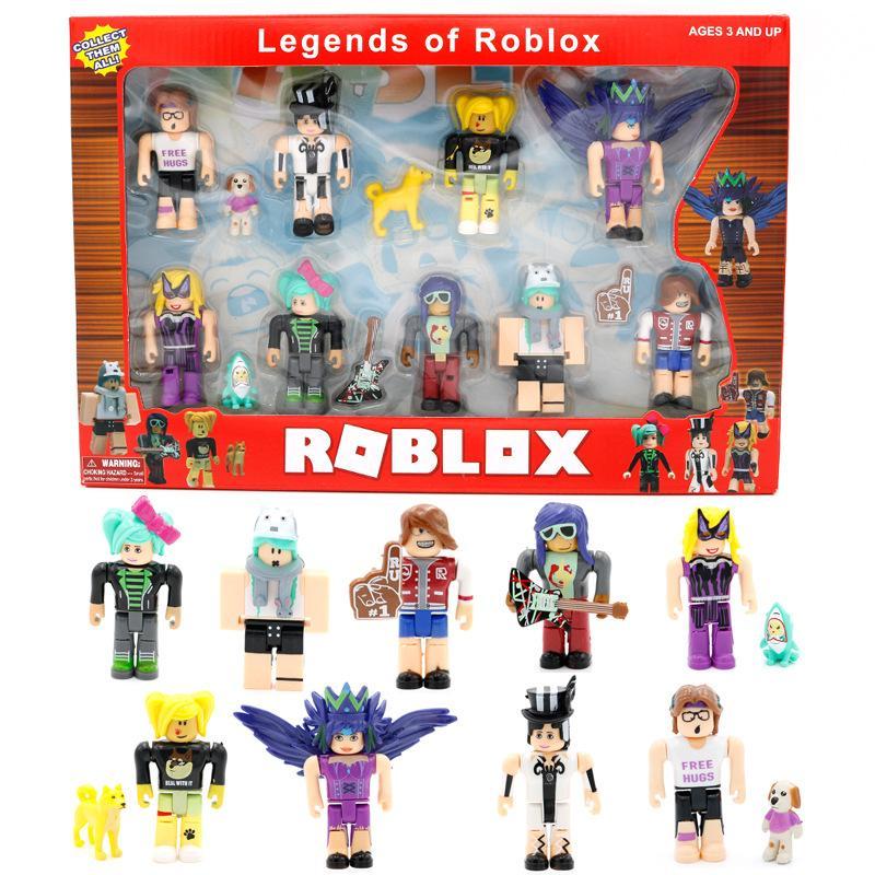 طفل اللعب كتلة اللعب أساطير لعبة عمل roblox أرقام لعب 2020 هدية بيع الساخنة الطفل