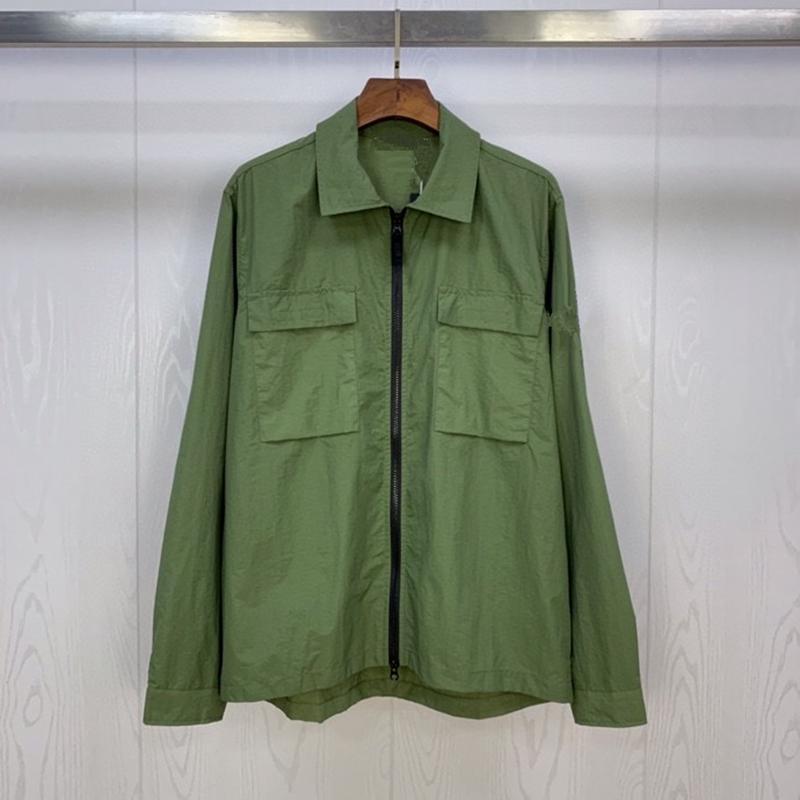 Apare hommes occasionnels chemises printemps et automne nouvelle mode marque ghost chemise manteau d'homme essentiel