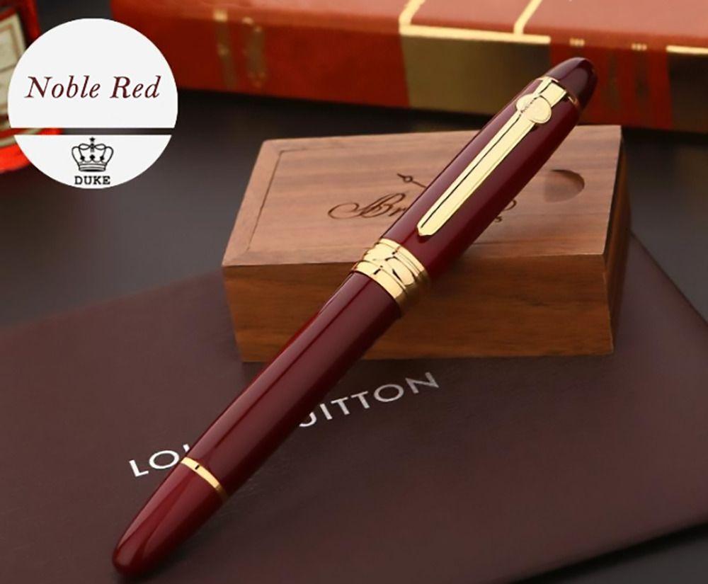 Original European Taste Pen Noble Black Duke 146 Iridium M Nib Fountain Pen
