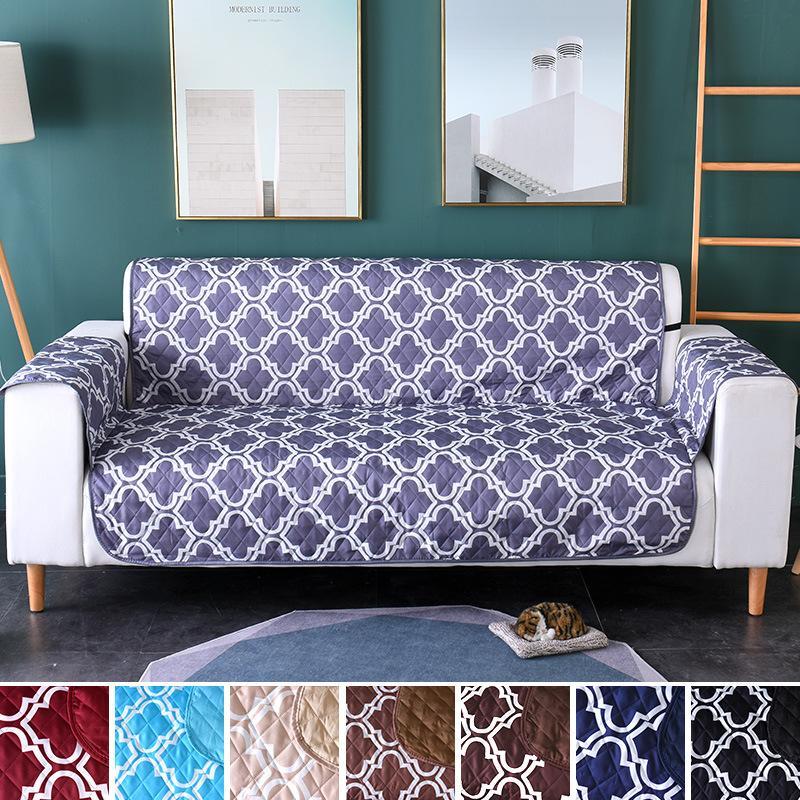 Canapé Canapé Fauteuil Canapé inclinable Covers Housses Pour Chiens Chats Pet Furniture Protector 1/2 / Sièges couvertures pour salon