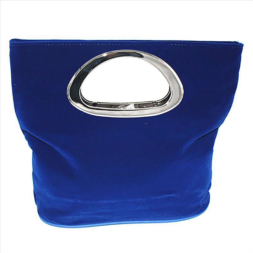 Borse da sera 2019 di modo delle donne del partito delle signore delle donne Moda semplice quadrato pieghevole Handbag Evening Bag Drop Shipping