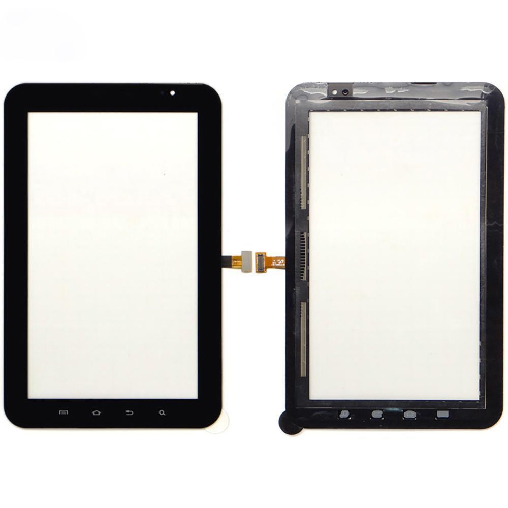 cgjxs 10pcs di alta qualità 7 0,0 per Samsung Galaxy Tab P1000 dello schermo di tocco del convertitore analogico sensore anteriore esterno di vetro del pannello Lens