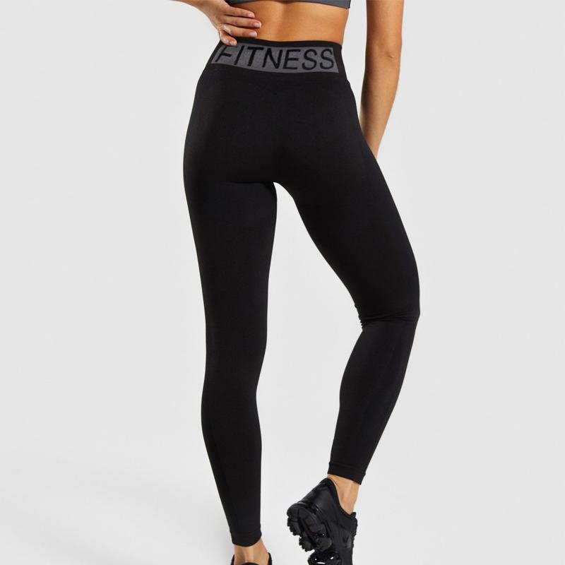 Wear Flex pantalones de yoga Yoga polainas de cintura alta Gimnasio polainas inconsútiles de las mujeres de fitness Legging de compresión Pantalones Deportes para Mujeres de la gimnasia