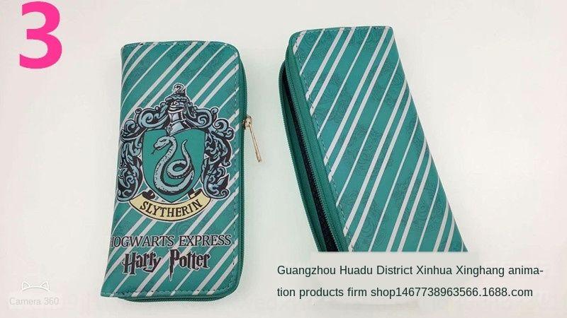 Harry Potter Männer und Frauen Handtasche Lange Mappe Hogwarts Eintritt Brieftasche Handtasche