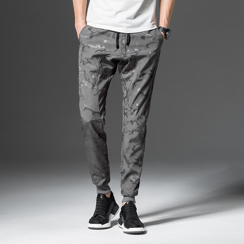 2020 Мужчины Брюки Jogger человек Багги шаровары брюки хип-хоп камуфляж моды High Street Брюки Sweatpants 4XL