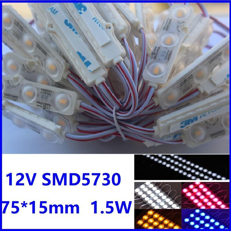 Módulos LED 5630/5730 para Light Store Front Janela de Iluminação Injeção Bar Barra IP68 À Prova D 'Água Tira