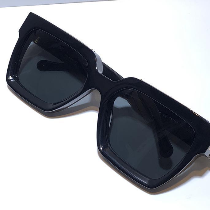 Millionärs-Sonnenbrille vollen Rahmen Jahrgang 1165 Sonnenbrille für Männer Glänzende Gold Heißer Verkauf Vergoldete Top Qualität 1.1 Sonnenbrille 96006