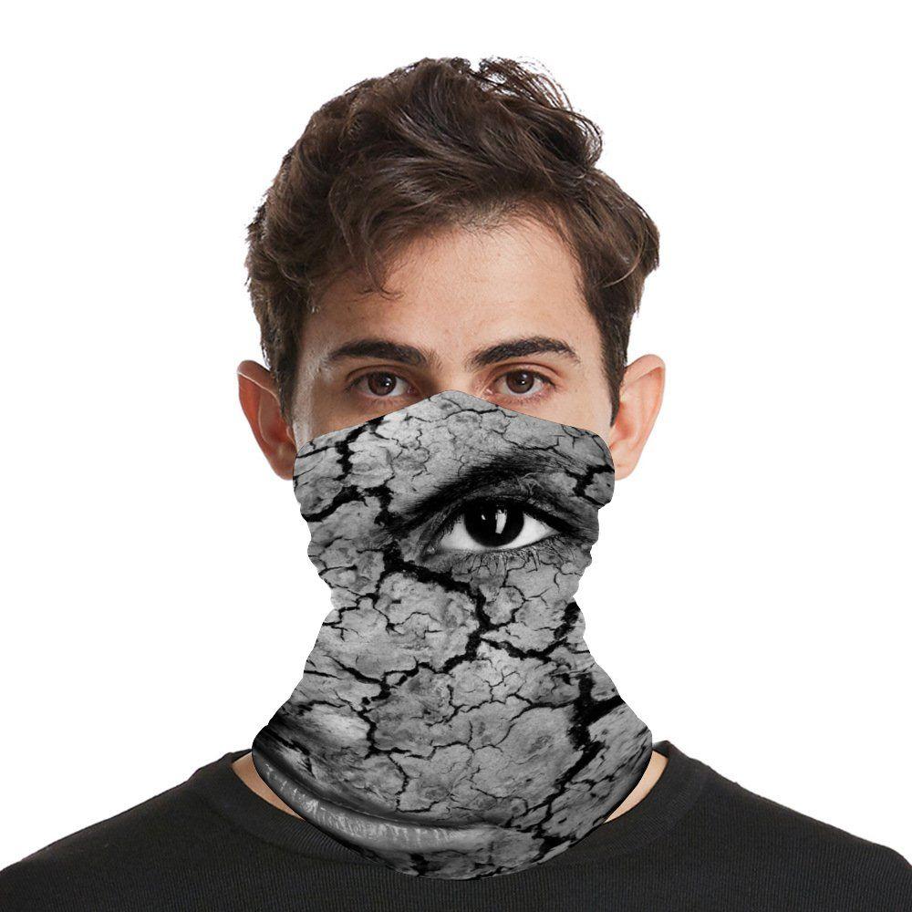 Bandana Seamless Gesichtsmaske-Ansatz Gamasche für Staub, Wind, Sonne Schutz-Magie-Schal-Gesichtsmaske Wiederverwendbare UV-Schutz-Stirnband für Männer und Frauen
