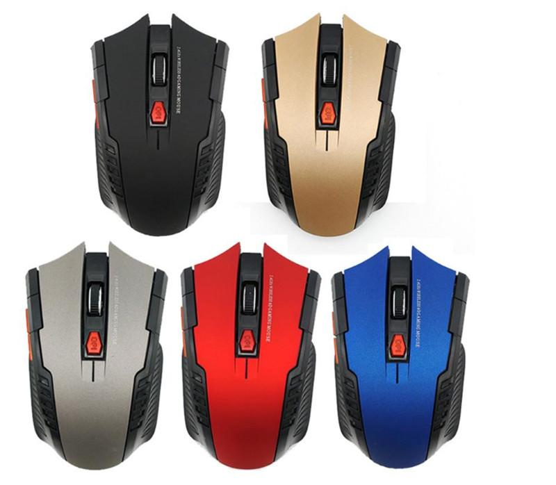 Bluetooth Wireless Gaming Mouse 2400DPI 6 Buttons 2.4Ghz Mini Wireless Optical Gaming Mouse Gift for PC Laptop