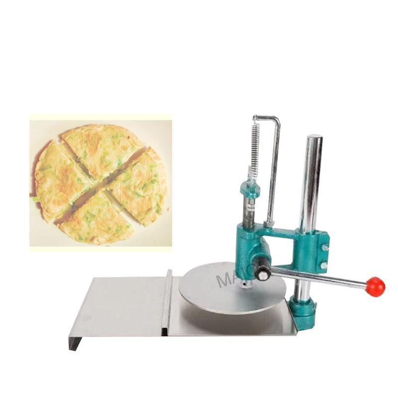 2020 Presse main Grab gâteau Squeezing Machine manuelle ronde Pâte presse outil Pizza machine à presser la pâte Pastry machine de presse