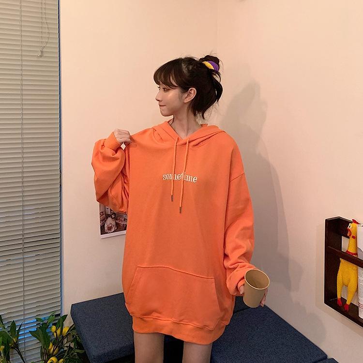 xrx8a 2020 otoño nueva versión grande celebritystyle línea ins Escudo suéter de la capa con capucha lindo oreja de conejo Tu suéter para las mujeres