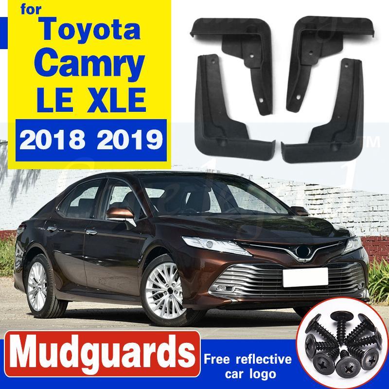 Avant Arrière boue voiture Flap pour Toyota Camry LE 2018 2019 XLE Daihatsu Altis Bavettes garde-boue BOUE Garde-boue Fender 2017