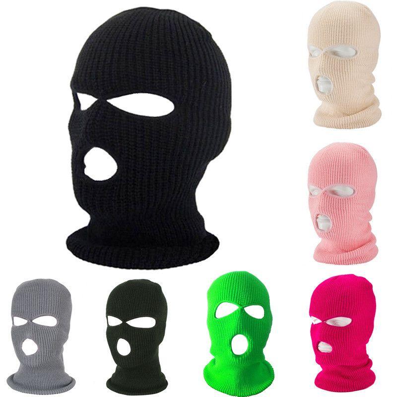 Balaclava Mask chapéu do inverno Capa de néon do Dia das Bruxas Verde Caps para máscaras partido da motocicleta Bicicleta Esqui Ciclismo Balaclava rosa