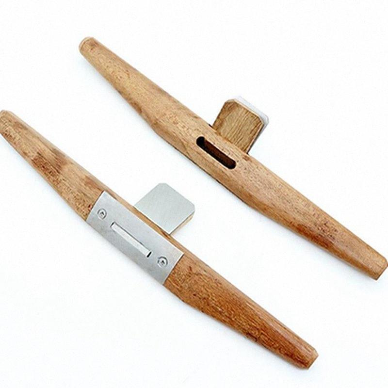 1PC Carpintaria Ferramenta Madeira Planer Rosewood Pássaro Plano Planer Carpenter Slotted Borda aparamento Planers UhdM #