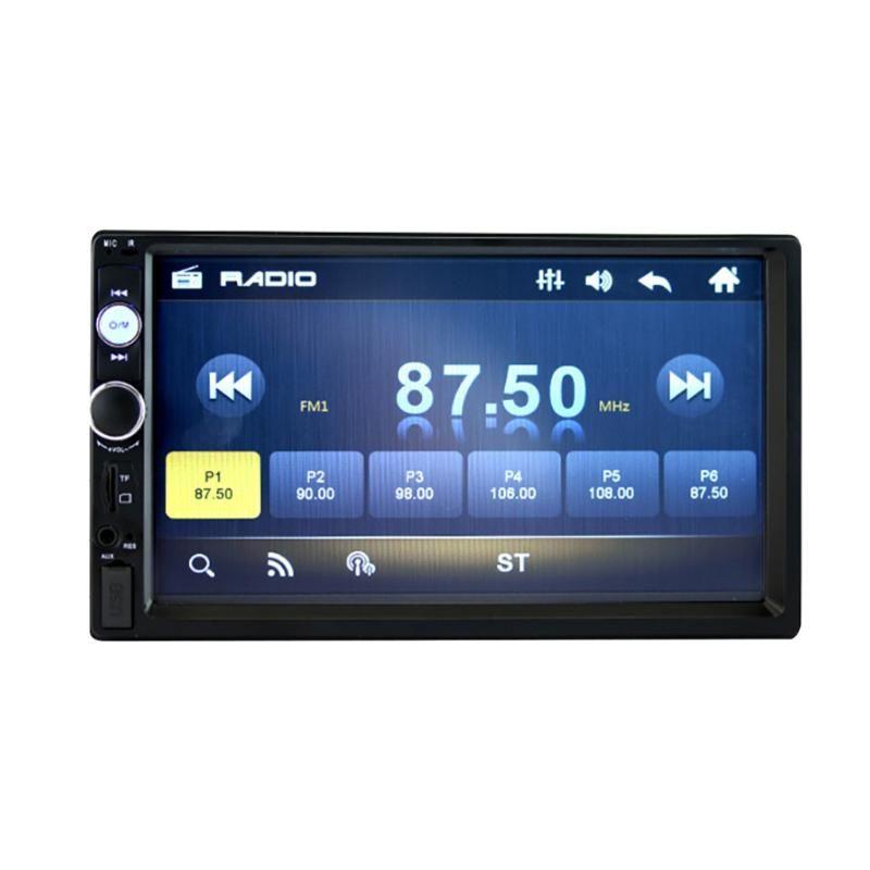"7018B Universal Car Multimedia-Spieler Autoradio 2din Stereo 7"" Touch Screen FM Video MP5 Autoradio mit Kamera # R15"