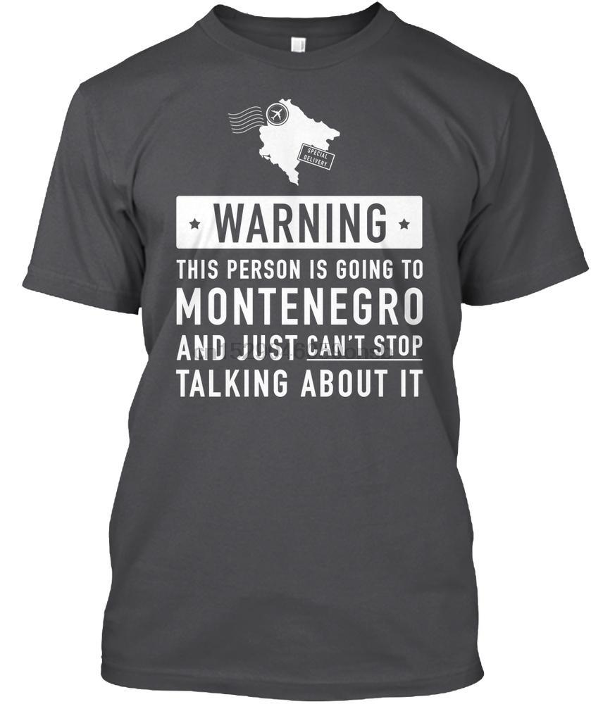 T shirt Uomo Montenegro Paese regalo delle donne maglietta