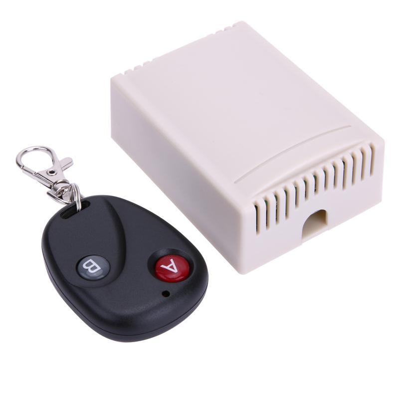 12V 2CH Controles remotos 2CH sem fio universal 433MHz Chave de controle remoto com controle remoto Multifuction Tipo Cruz