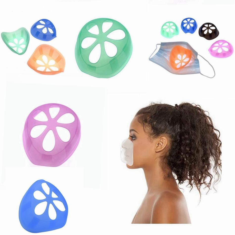 Maske inneren Stützrahmen Masken Schutzbügel Einweg-Nasenmaske Pad Anti Lippenstift Off Makeup Anti Dichtigkeits Brackets LJJP414-2