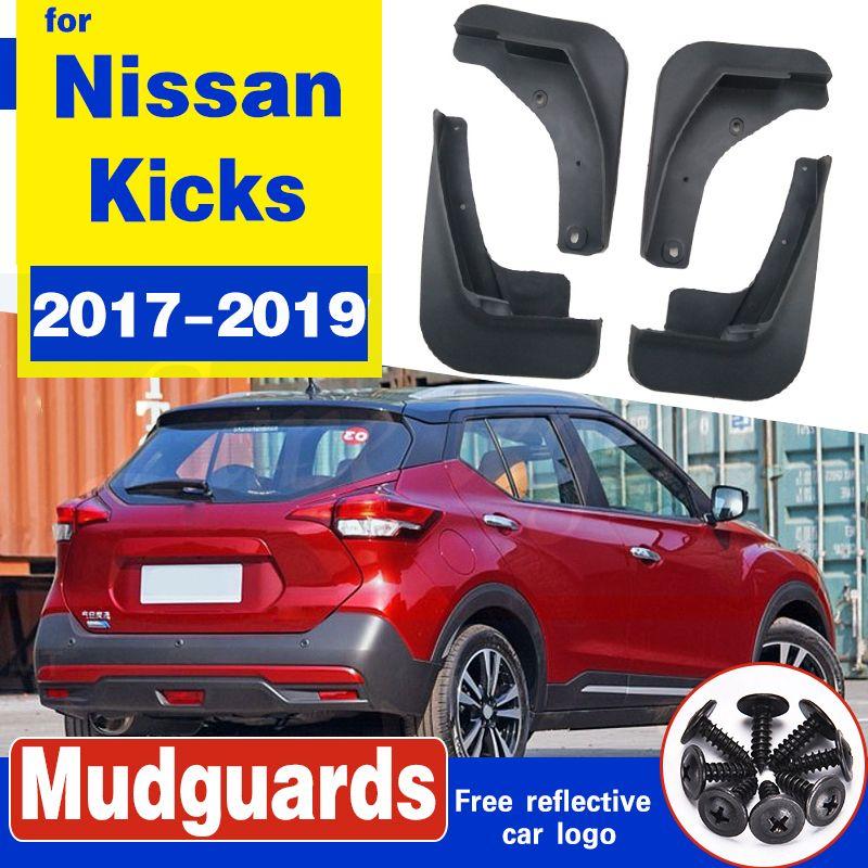 Set Molded Auto Schmutzfängern für Nissan Kicks 2016 - 2018 für Nissan Kick-Schmutzfänger Schmutzfänger Schmutzfänger Kotflügel Fender Styling
