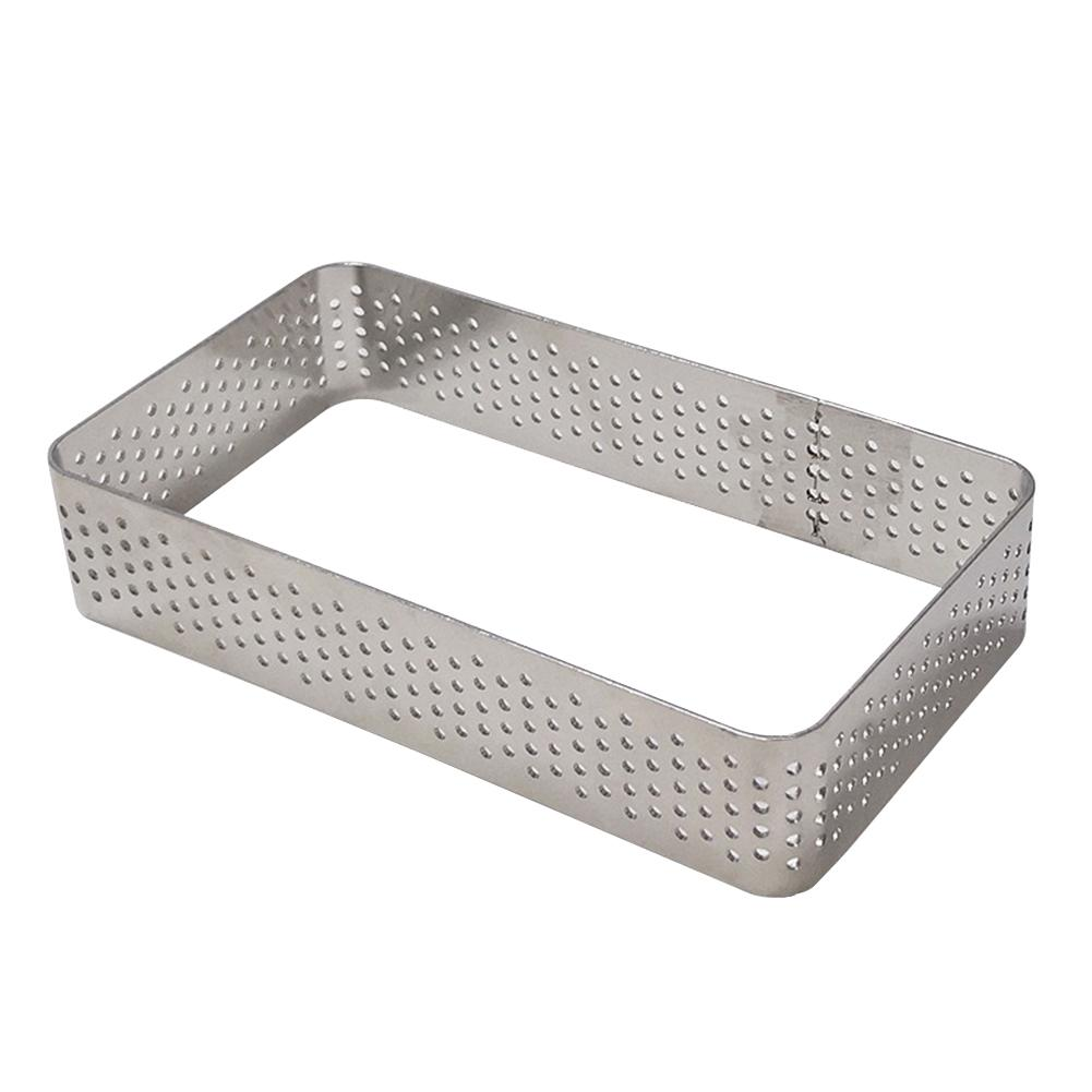 Mousse Kitchen Tools Tower Ring Cake Mold Easy Clean Stainless Steel Rectangle