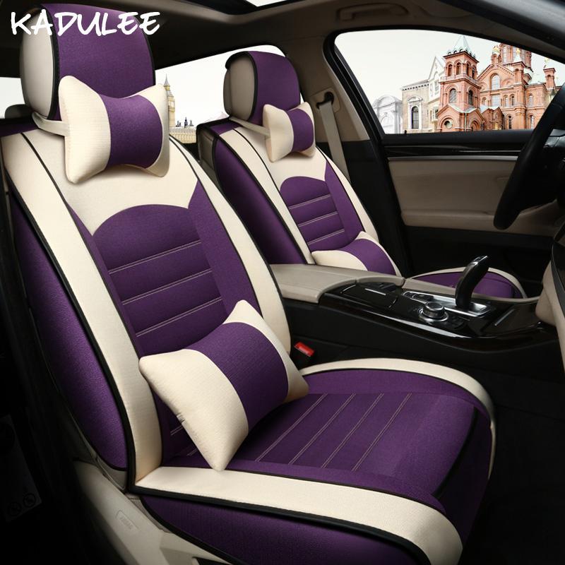 cubierta de asiento de coche universal para KADULEE Granta Lada Priora Kalina Vesta Largus 2020 accesorios del coche protector de asiento de coche de auto-estilo